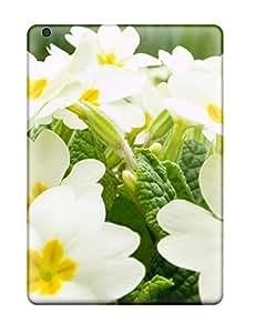 [qLBXZqc1320jMlEl] - New White Flowers Protective Ipad Air Classic Hardshell Case