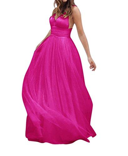 Fuschia Homecoming Dresses - 2