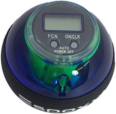 espoxx Power Ball mano y Oberschenkeltrainer con electr/ónico Counter ledes y Giroscopio Rotor para entrenar la musculatura