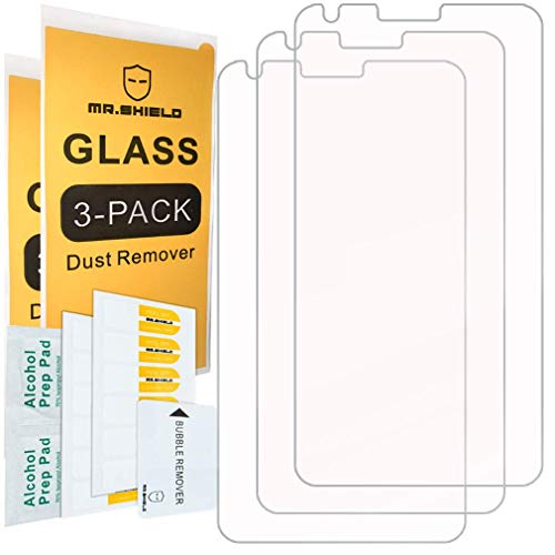 [3-Pack]- Mr.Shield for LG G6 Duo/LG G6 [Tempered Glass] Screen Protector [Japan Glass with 9H Hardness] with Lifetime Replacement