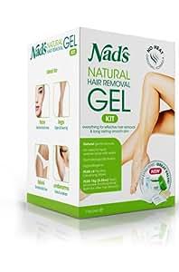 Nad's No-Heat Hair Removal Gel, 6 oz (170 g)