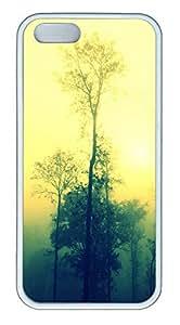 iPhone 5 5S Case Dream like Landscapes TPU Custom iPhone 5 5S Case Cover White