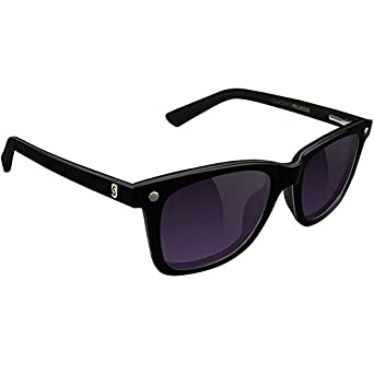 3e9ce17ad0c76 Glassy Mikemo Premium Polarized Sunglasses - Black Purple Smoke at Amazon  Men s Clothing store