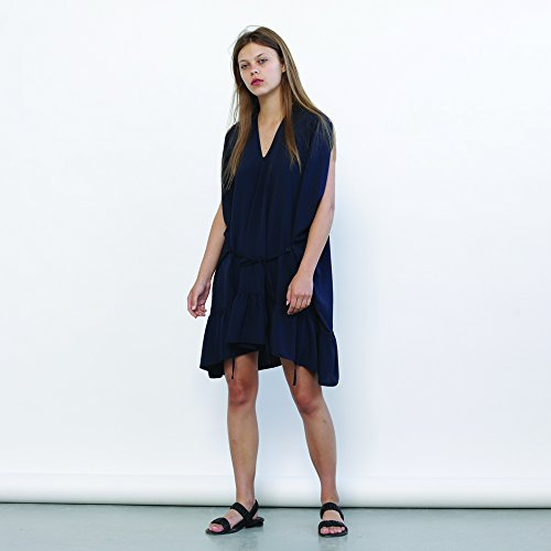 Galla dress - Blue navy ,Summer party dress.loose fitting, effortlessly chic pull on dress.Holidays Sale 50% off by Naftul