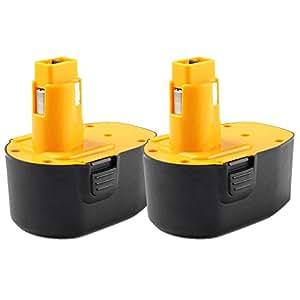 masione 2 pack 14 4 dc9091 2 battery for dewalt 14 4 volt power tools dw9094 dw9091 dc9091. Black Bedroom Furniture Sets. Home Design Ideas