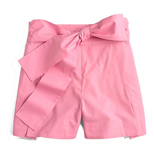 J. Crew Tie-Waist Short in Cotton Poplin for Women for sale  Delivered anywhere in USA