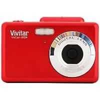 Vivitar 16MP Camera with 2.4-Inch TFT Panel (VS124-RED-FR) by Vivitar