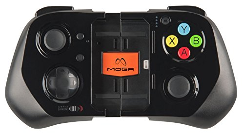 MOGA strength Series iOS mobile cellular Game Controller (Only functions for iPhone 5, iPhone 5c, iPhone 5s and iPod touch (5th generation) utilizing iOS 7 or later) Black Friday & Cyber Monday 2015