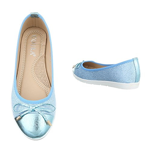 slipper Hellblau 626 women's design Italian slippers 6w5vnI