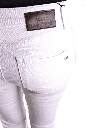 Reign Jeans Donna MCBI384037O Cotone Bianco