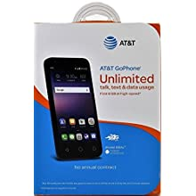 At&T GoPhone Alcatel Ideal Android Smartphone