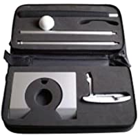 Puttingset exclusiv Aluminium,Büro Golf, Golf Set im Koffer