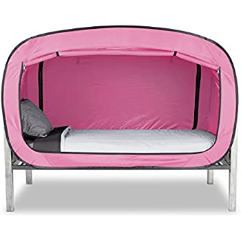 Privacy Pop Bed Tent (Twin) - PINK