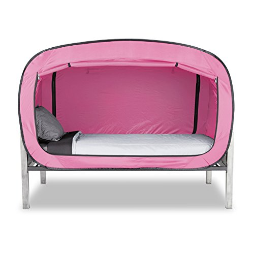 Privacy Pop Bed Tent (Queen) - PINK