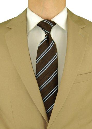 Salvatore Exte Men's 2 Button Tan Beige Suit