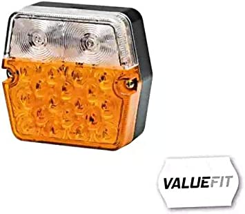 Hella 2be 357 023 001 Blinkleuchte Valuefit Led 12 24v Anbau Auto