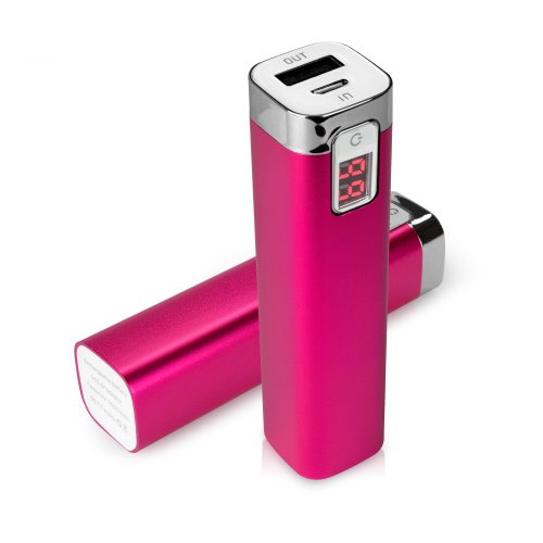 iPhone 6 Plus Battery, BoxWave [Rejuva Power Pack] 2600 mAh Backup Battery for Apple iPhone 6 Plus - Cosmo Pink