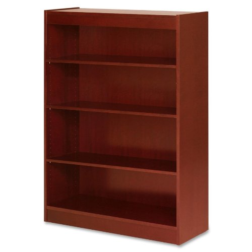 Lorell 89052 4 Shelf Panel Bookcase, 36