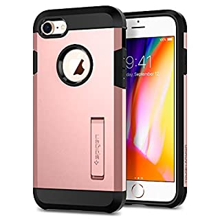 Spigen Tough Armor 2 Works with Apple iPhone 8 Case (2017)/ iPhone 7 Case (2016) - Rose Gold (B07481XP9F) | Amazon price tracker / tracking, Amazon price history charts, Amazon price watches, Amazon price drop alerts