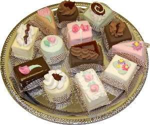 Dessert Tray 13pc. Display Deserts Fake Food by Flora-cal ()