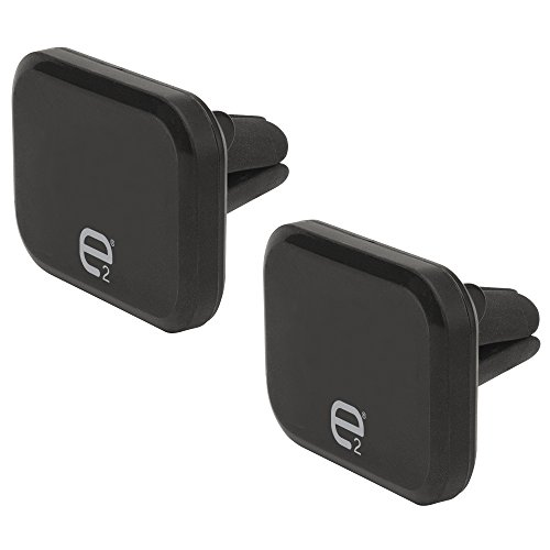 SCOSCHE E2VM2PK-UB Magnetic Phone/GPS Vent Mount for the Car, Home of Office 2-Pack