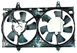 TYC 620050 Nissan Maxima Replacement Radiator/Condenser Cooling Fan Assembly