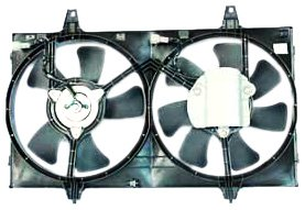 - TYC 620050 Nissan Maxima Replacement Radiator/Condenser Cooling Fan Assembly