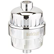 Shower Filter - Best 3-Stage -Universal - High-Performance - Elegant - Water Filter - Remove Chlorine - Soften Water by BathStuf - Perfect to Create Softer Skin and Hair -Protect your Family