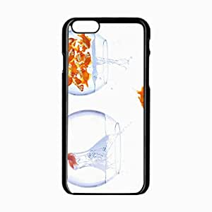 iPhone 6 Black Hardshell Case 4.7inch fish water aquarium Desin Images Protector Back Cover