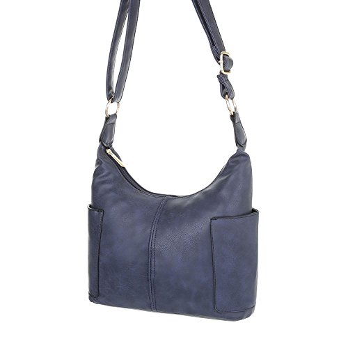 Schuhcity24 Taschen Handtasche In Used Optik Dunkelblau UgXorYVA