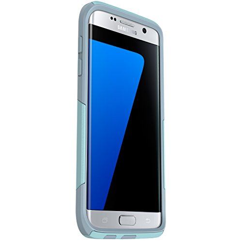 OtterBox COMMUTER SERIES Case for Samsung Galaxy S7 Edge - Frustration Free Packaging - BAHAMA WAY (BAHAMA BLUE/WHETSTONE BLUE)