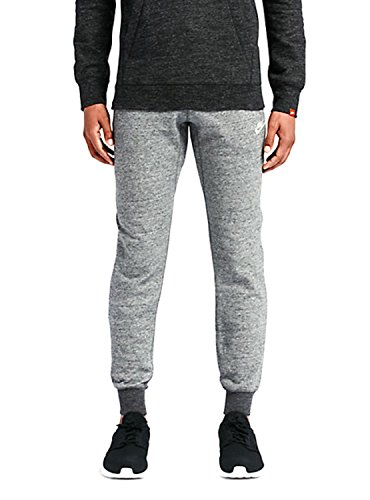 Nike Mens Sportswear Legacy Jogger Sweatpants Carbon Heather/Sail 805150-091 Size Medium