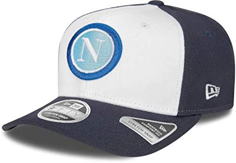 Nero ssc napoli 9fifty Stretch-Snap ML Cappello Unisex Adulto