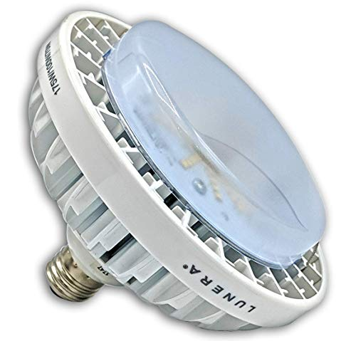 (Lunera Susan Lamp, 5000K LED Screw-in High Bulb Retrofit Replacement for 70W/100W/175W Metal Halides, E26 Standard Screw-in Base, Vertical Mount)