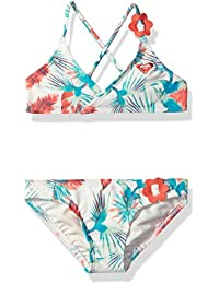 Toddler Girls' Tropical Days Athletic Swimsuit Set
