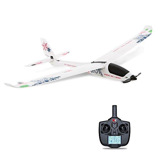 [해외] RaiFu 비행기 XK A800 4CH 780mm 3D6G 고정익 수직 이백팩 착백팩 시스템 RC 글라이더 비행기 대응 후퍼터바사 RTF