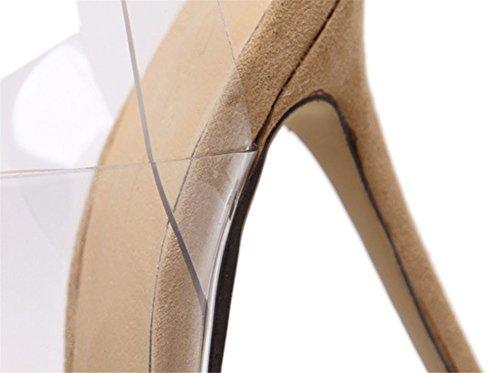Scarpe Zpl Cinghietti Anno Ballo Signore Le Piattaforma Peep Sandali Toe Estate Stiletto Caviglia Apricot Alto Donna Tacco Sera Festa Alla Di Cinturino Fine qI7wnrRAxq