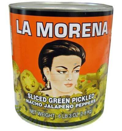 La Morena Sliced Jalapenos Peppers, 7 oz.