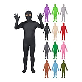 - 41F y6w 1DL - Sheface Spandex Eyes Open Second Skin Zentai Full Body Costume