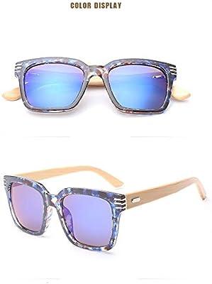 Ruanyi Gafas de Sol de bambú Hechas a Mano, Gafas de Sol de ...