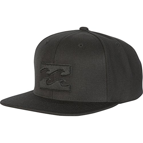 Billabong Men's All Day Snapback Hat, Stealth, One Size (Billabong Men Hat)