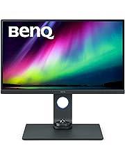 BenQ PhotoVue monitor SW270C 68,58 cm (27 tum) skärm (LED, WQHD, 2560 X 1440 (inklusive) USB Typ-C, AQCOLOR Technologie, 99% Adobe RGB, 16 bit 3D LUT, IPS-teknik), monitor för foton, svart