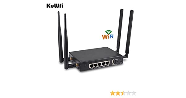KuWFi 300Mbps 3G 4G LTE CPE Router Antena Externa Router Extender ...