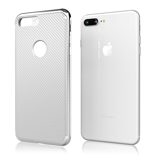 Nicexx [2018 Updated] iPhone 7 Case/iPhone 8 Case [New] Premium Luxury Slim Design Cell Phone Case [8 ft. Grade Drop Tested] for iPhone 7/iPhone 8 - Silver by Nicexx