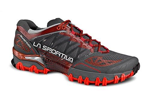 La Sportiva - Zapatillas para correr en montaña para hombre Gris gris