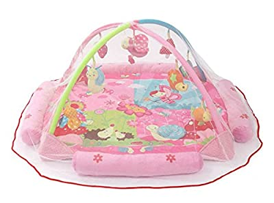 Baby Infant Nursery Bed Game Blanket Crib Canopy Mosquito Net Netting