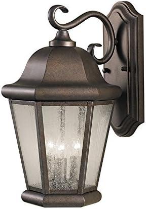 Sea Gull Lighting OL5902CB Martinsville Large Three Light Outdoor Wall Lantern Outside Fixture
