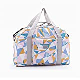 New Folding Travel Bag Large Capacity Unisex Luggage Packing Travel Handbags color handbag