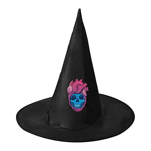Halloween hat Evil skull Team Witch Costume Hat Costume Accessory for Halloween