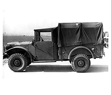 Amazon com: 1954 Dodge M37 Military Weapons Truck USAF Photo Poster
